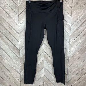 Athleta zipper side pocket leggings